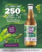 Soft drink from Seychelles, Seypearl Ginger Ale, wins quality award