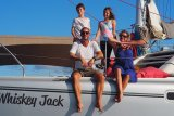 A Canadian family sailing around the world finds safe harbour in Seychelles amidst COVID